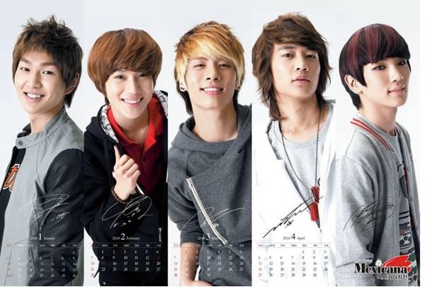 Kpop Boy Band SHINee Korea Boy...