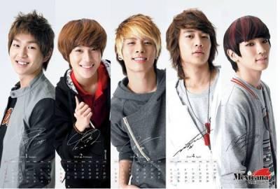Korean Boy Band SHINee