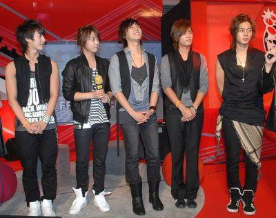 SS501 Korea Boy Band