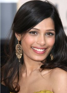 Freida Pinto The most beautiful artist in the world