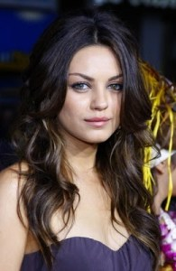 Mila Kunis The most beautiful artist in the world